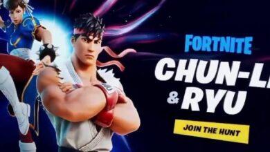 Photo of Fortnite: Chun-Li y Ryu de Street Fighter llegarán al juego según filtración