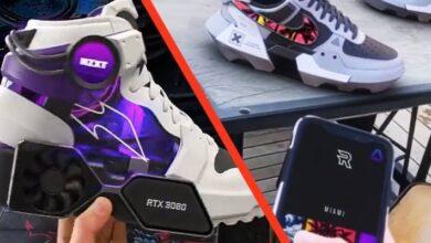 Photo of NVIDIA: fans crean zapatillas con pantallas personalizables y tarjetas gráficas
