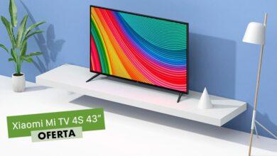 Photo of Fnac tiene la Xiaomi Mi TV 4S de 43 pulgadas rebajada en 100 euros: llévatela a casa por 299,90 euros