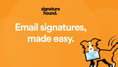 Photo of Signature Hound, la herramienta para crear firmas de e-mail gratis que puedan visualizarse correctamente en multitud de clientes