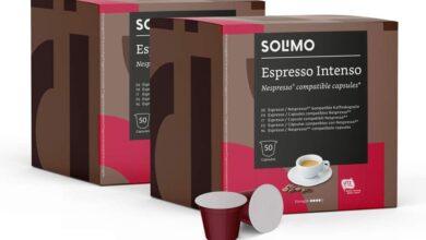 Photo of Las cápsulas de café más vendidas de Amazon son de Solimo, compatibles con Nespresso y, con este cupón, te llevas 100 por menos de 10 euros