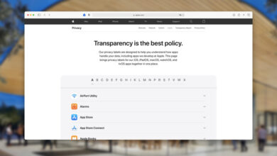 Photo of Apple publica las etiquetas de privacidad de todas sus apps reunidas en apple.com