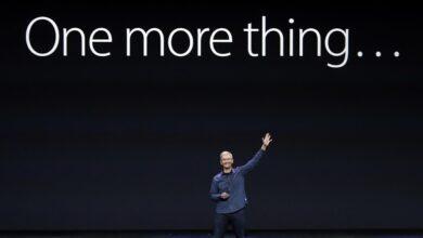 Photo of One more thing… cómo desactivar la previsualización de pestañas en el Mac, Wombo AI y pantallas textiles