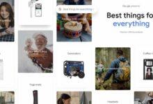 Photo of Google lanza una guía con los 1.000 mejores productos acorde a su popularidad en la web