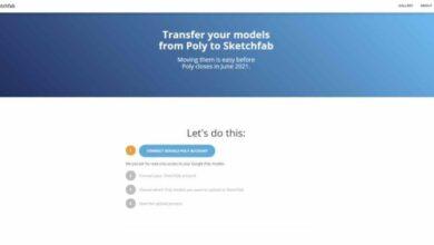 Photo of Esta herramienta te permitirá migrar los modelos 3D desde Poly a Sketchfab