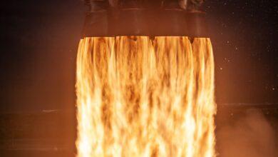 Photo of El fallo de un motor impidió el aterrizaje del último Falcon 9