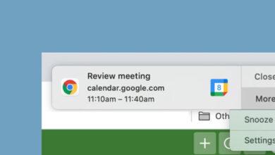 Photo of Google Calendar suma una opción para que no olvides las reuniones programadas