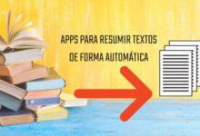 Photo of Apps para resumir textos de forma automática
