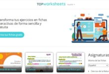 Photo of Top Worksheets, herramienta educativa gratuita para crear fichas interactivas autocorregibles