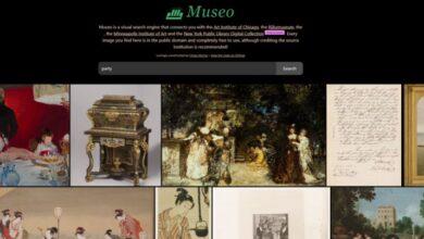Photo of Museo, un buscador de obras de arte de dominio público