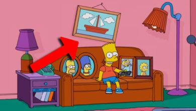 Photo of Los Simpson: ¿De dónde salió el cuadro del barco?
