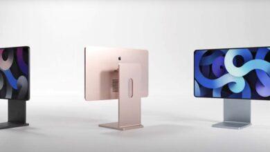 Photo of Este concepto imagina como serían los nuevos iMac basándose en el diseño de la Pro Display XDR y el iPad Pro