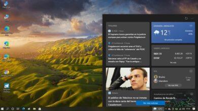 Photo of El widget 'Noticias e intereses' de la barra de tareas de Windows 10 llegará a nuevas versiones del sistema