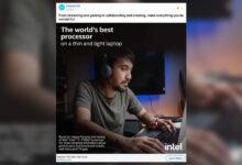 Photo of Intel anuncia sus nuevos procesadores usando un MacBook Pro que no los utiliza