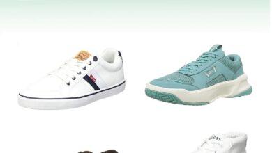 Photo of Chollos en tallas sueltas de zapatillas Lacoste, Levi's o Tommy Hilfiger en Amazon