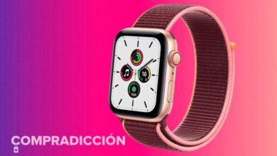 Photo of Regalar a tu madre un Apple Watch SE de 44mm GPS+Celular sale 43 euros más barato en MediaMarkt comprando el modelo dorado con correa Loop en color ciruela