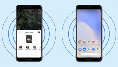 Photo of Google ya tiene lista la tranferencia en grupo para 'Nearby Share': envío de archivos a cuatro dispositivos a la vez