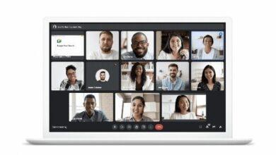 Photo of Google Meet usará la AI para centrar la imagen aunque te muevas o minimizar el efecto de estar a contraluz