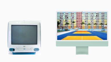 Photo of Los 23 años de evolución del iMac G3 hasta el nuevo iMac 2021