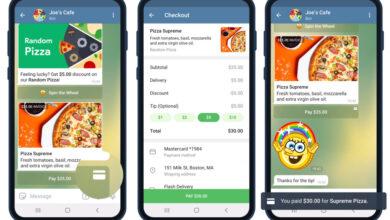 Photo of Telegram mejora sus pagos integrados permitiendo el uso de tarjetas bancarias en cualquier tipo de chat y casi todo el mundo