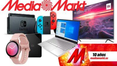 Photo of Ahorra en smart TVs y smartphones Xiaomi, en portátiles HP, en la Nintendo Switch o en aspiradores Dyson en el Aniversario MediaMarkt