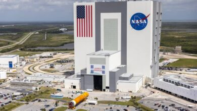 Photo of La NASA ya tiene todos los componentes de la misión Artemisa 1 en el Centro Espacial Kennedy
