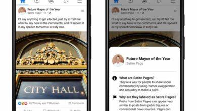 Photo of Facebook quiere diferenciar las publicaciones satíricas de las de noticias reales