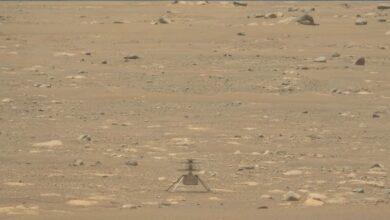 Photo of El helicóptero Ingenuity se piensa lo de su cuarto vuelo en Marte