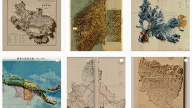 Photo of The Itinerarium: una curiosa recreación de mapas antiguos con técnicas modernas