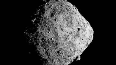 Photo of La NASA muestra la huella final de la OSIRIS-REx en el asteroide Bennu