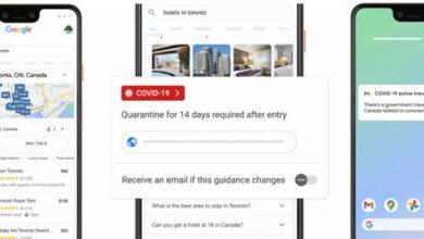 Photo of Google suma más información sobre COVID-19 en las búsquedas de viaje