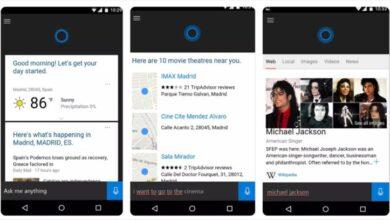 Photo of Microsoft elimina a su asistente Cortana de las tiendas de iOS y de Android