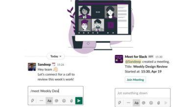 Photo of Google Meet para Slack, para organizar reuniones en segundos
