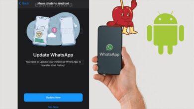 Photo of Whatsapp facilitará copiar historial de chats entre Android y iPhone y viceversa