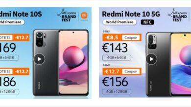 Photo of Xiaomi Redmi Note 10S y 10 5G, ya disponibles en todo el mundo