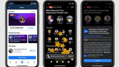 Photo of Facebook lanza Live Audio Rooms, salas de audio al estilo Clubhouse
