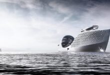 Photo of Imponente y majestuoso, así luce el Earth 300: el crucero que albergará la ciudad científica flotante más grande del mundo