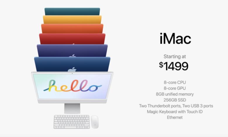 Photo of Apple renueva las iMac con nuevos colores