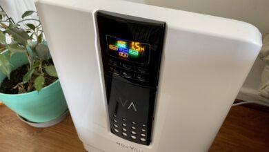 Photo of Review del purificador de aire Mouvair Zen: pequeño, poderoso y con luz UV