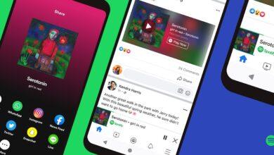 Photo of Oficial: Facebook presenta el reproductor mini de Spotify dentro de su plataforma