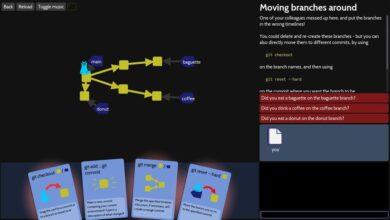 Photo of Aprende a programar colaborativamente con Git jugando a 'Oh My Git!', un videojuego libre al que tú mismo puedes contribuir