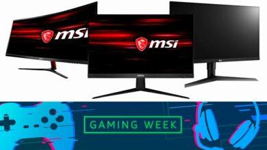 Photo of Estos 15 monitores de ASUS, HP, MSI, Ozone o Samsung te salen más baratos en la Gaming Week de Amazon