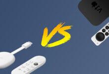 Photo of Apple TV VS Chromecast con Google TV: ¿cuál es el mejor centro multimedia para el televisor?