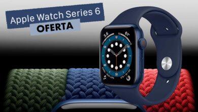 Photo of Esta semana, El Corte Inglés te deja el Apple Watch Series 6 GPS+Celular de 44mm por 50 euros menos