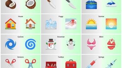 Photo of El rediseño de Android 12 también llega a los emojis: feliz con la mascarilla, jeringuilla sin sangre y 387 cambios más
