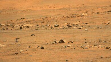 Photo of El helicóptero Ingenuity hace su quinto vuelo en Marte y se muda a un nuevo «aeropuerto»