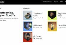 Photo of Spotify ofrecerá una serie de conciertos virtuales para quienes compren sus entradas