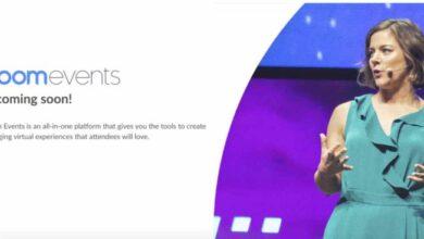 Photo of Zoom Events, la nueva plataforma de Zoom para todo lo relacionado con los eventos virtuales