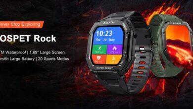 Photo of Kospet Rock, un reloj inteligente resistente de menos de 35 euros
