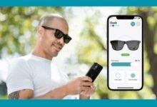Photo of Gafas de Sol que se ajustan con una app